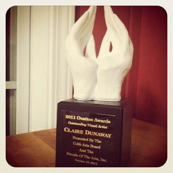 Cobb County Ovation Awards Tropy