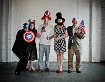 Americana The Beautiful Photo Booth Fun!
