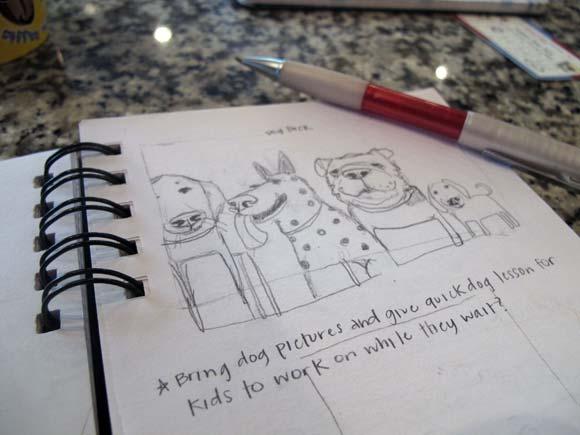 Sketchbook Series | Trinity School Dog Pack
