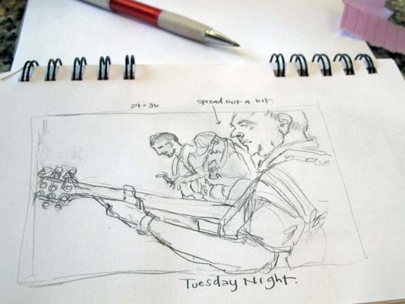 Sketchbook Series | More Tuesday Night Musicians